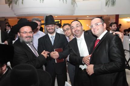 הרב בועז נקי, הרב אדיר אמרוצי, יהודה שוקרון ואלעד כהן