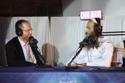 הרב מיכי יוספי וידידיה מאיר