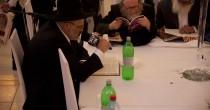 הרב מילצקי בשיעור הפתיחה למסכת ברכות עם מאזיני השיעור