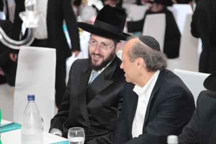 הרב צבי יהודה לאו עם יוסף גרינפלד