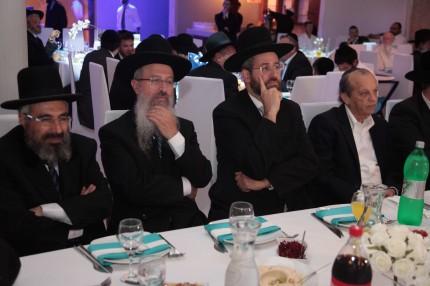 הרב רצון ערוסי, הרב אברהם יוסף, הרב דוד לאו ומר יוסף גרינפלד