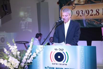 מנכל רדיו קול חי עידו ליבוביץ