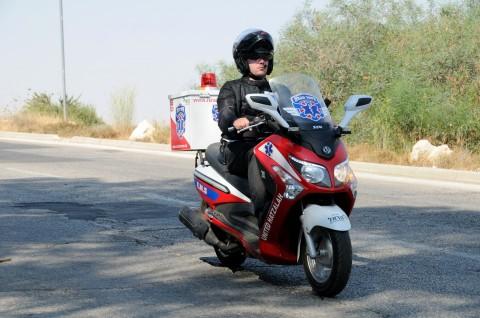 איחוד הצלה, אופנוע