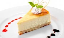 cheesecake studio shot