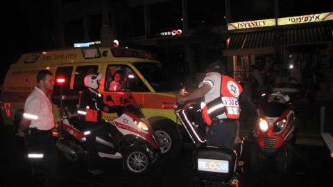 צוותי מדא על אופנועים, ניידת טיפול נמרץ וסאגווי - צילום דוברות מדא