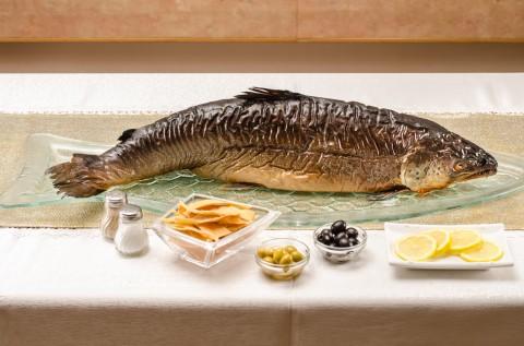 סלמון מעושן דגים