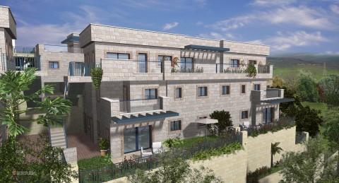 דירה בניין בית פרויקט פסגת יורו של חברת יורו ישראל  בפסגת זאב 2 קרדיט-רן ון דן