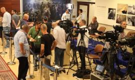 תקשורת כנסת בחירות מסיבת עיתונאים הצהרה