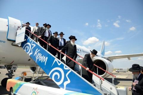 מטוס טיסה ממשלתית מיוחד ממוסקבה לקרים
