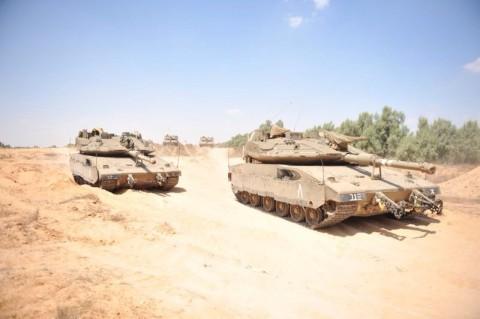 צבא צה''ל חייל עזה טנק