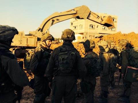 צה''ל צבא חייל מלחמה מנהרה