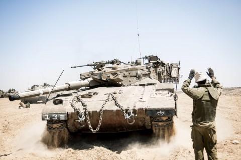 חייל צה''ל צבא עזה טנק