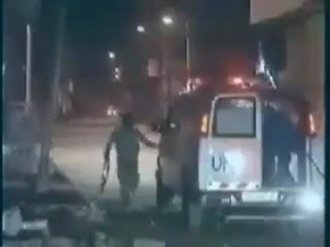 עזה או''ם אמבלונס מחבלים טרור