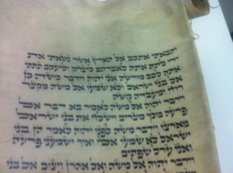 ספר התורה האבוד מתקופת השואה 2