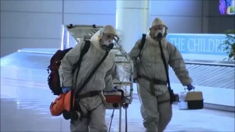 תרגיל חרום הצלה אבולה נגיף