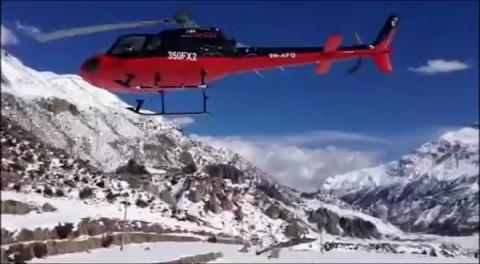 מטוס מסוק שלג נפאל