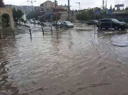 חורף 2014 3 גשם רכב אוטו