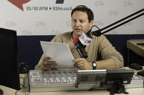 מגיש ועורך החדשות, אריאל שרפר