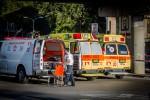 פיגוע דקירה בתל אביב- צילום אסי דבילנסקי דוברות מדא 21.1.15 (15(