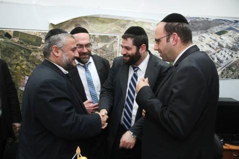 דגל התורה, משה גפני, אורי מקלב, משה אבוטבול מרדכי בלוי