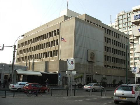 """שגרירות ארה""""ב בת""""א"""