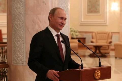 פוטין, נשיא רוסיה