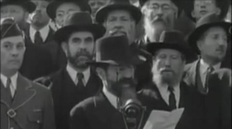 """הפגנה בזמן השואה בארה""""ב"""