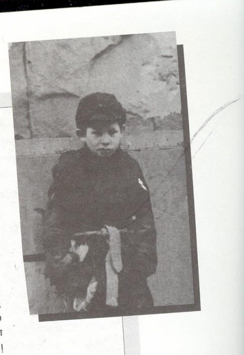 ילד בשואה