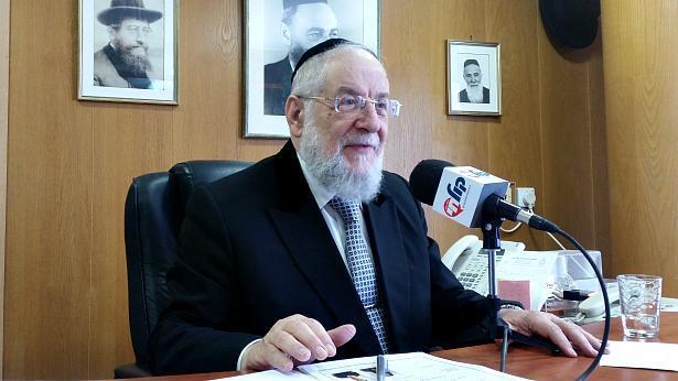 """הגאון רבי ישראל מאיר לאו שליט""""א"""