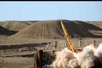 שיגור טיל באיראן