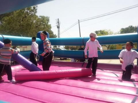 אטרקציה לונה פארק ילדים חרדים