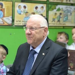 הנשיא בפתח שנת הלימודים הקודמת, בירושלים