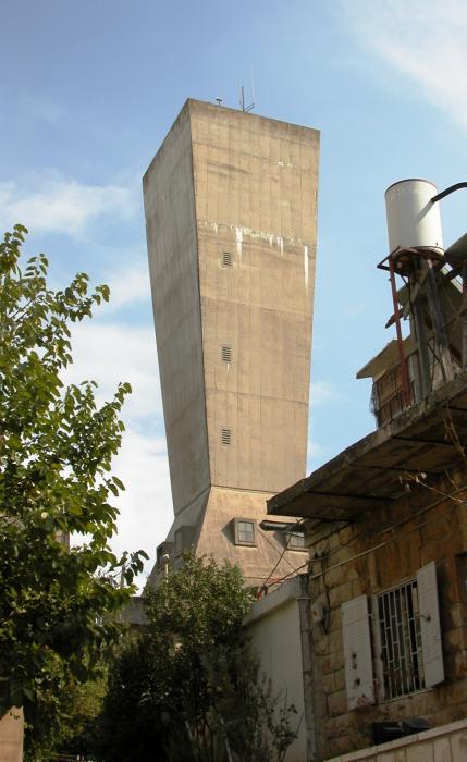 מגדל המים בקרית משה_מתוך ויקיפדיה