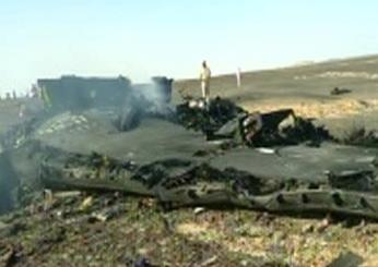 התרסקות המטוס הרוסי צילומסך