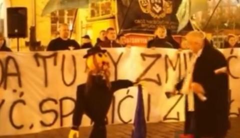 אנטישמיות, פולין, ניאו נאצים