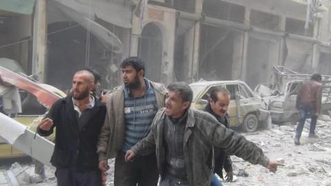 פצועים בסוריה • אילוסטרציה