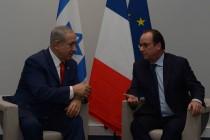 ראש הממשלה בביקורו הקודם עם נשיא צרפת לשעבר, פרנסואה הולנד