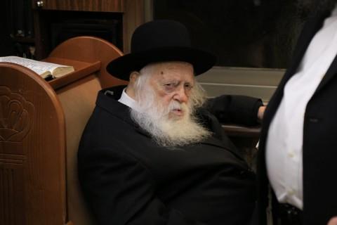 """רבי חיים קנייבסקי נחמיה אברמס - סוכנות הידיעות """"חדשות 24"""""""