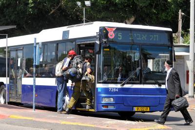אוטובוס ציבורי | אילוסטרציה