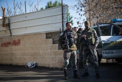 """מג""""ב טרור משטרה מזרח ירושלים"""