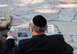 חרדי קורא עיתון, עיתון