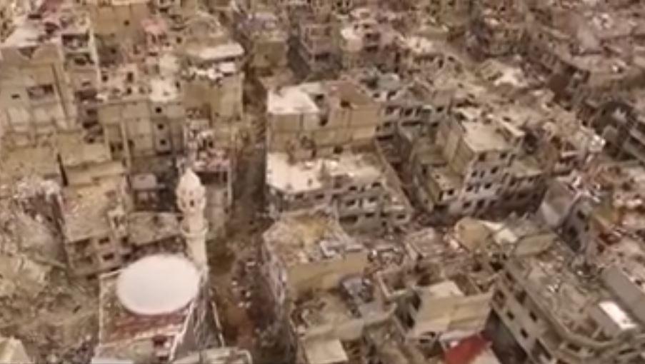 סוריה תחת הפגזה