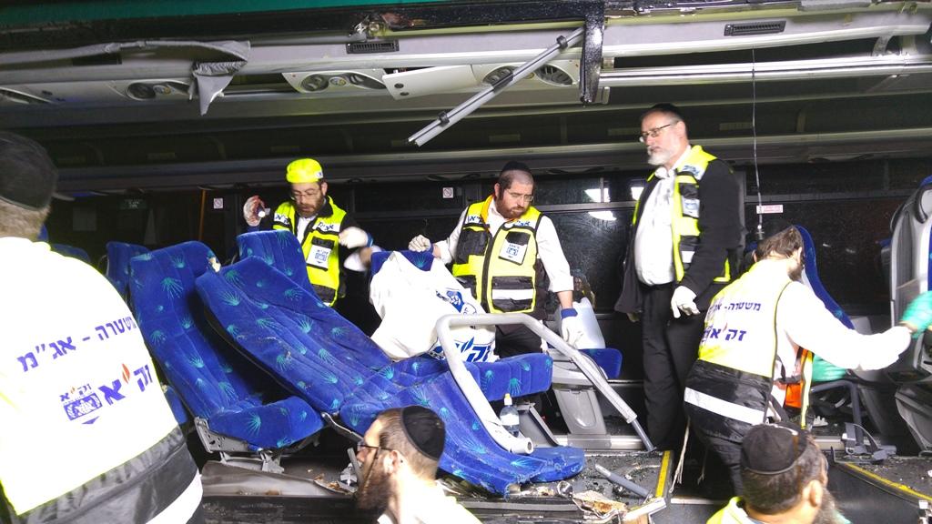 תאונה כביש ירושלים תא  (12)