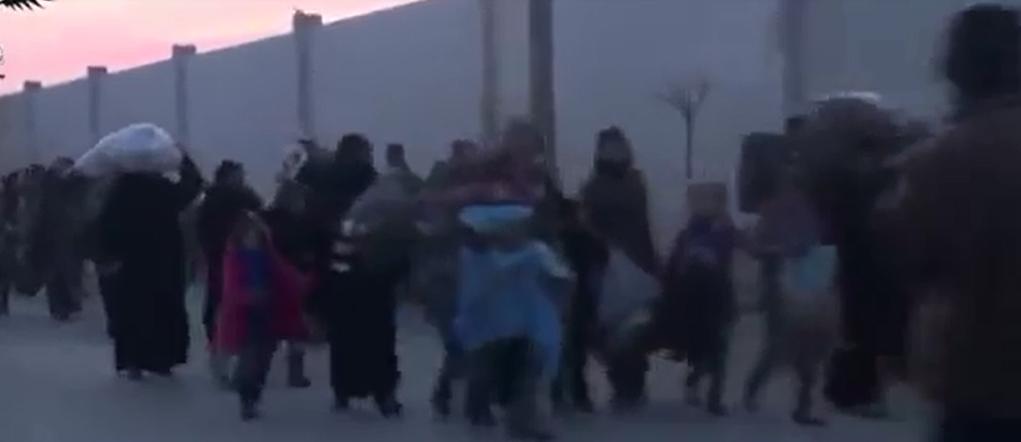 בריחה סוריה פליטים