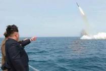 צפון קוריאה, ניסוי, טיל