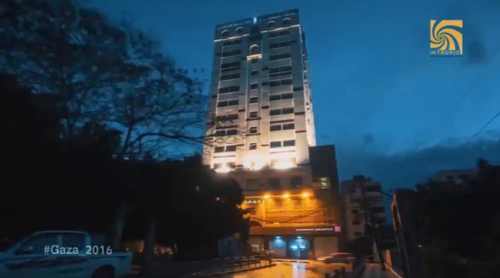 מלון בעזה • אילוסטרציה
