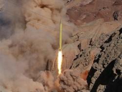 שיגור טיל איראני. אילוסטרציה