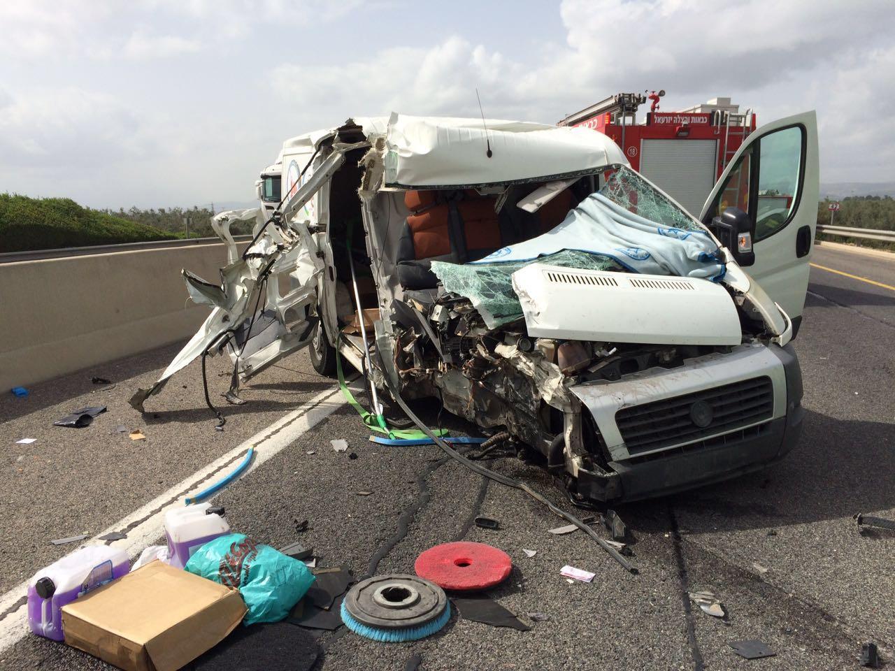 תאונת דרכים עפולה (5)
