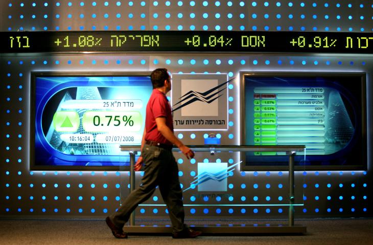 הבורסה לניירות ערך • אילוסטרציה