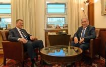 נתניהו ונשיא רומניה